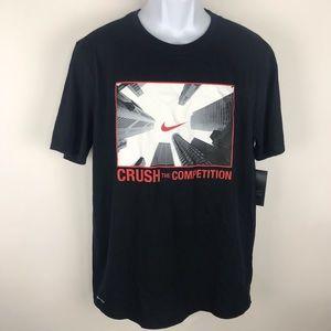 New The Nike Tee Men's Athletic Cut T-Shirt L